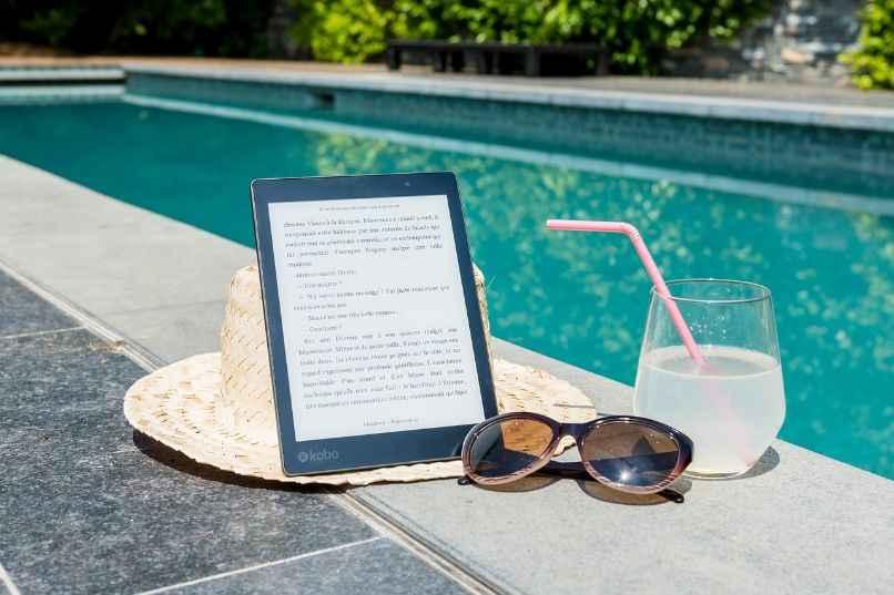 piscina tablet resistencia agua