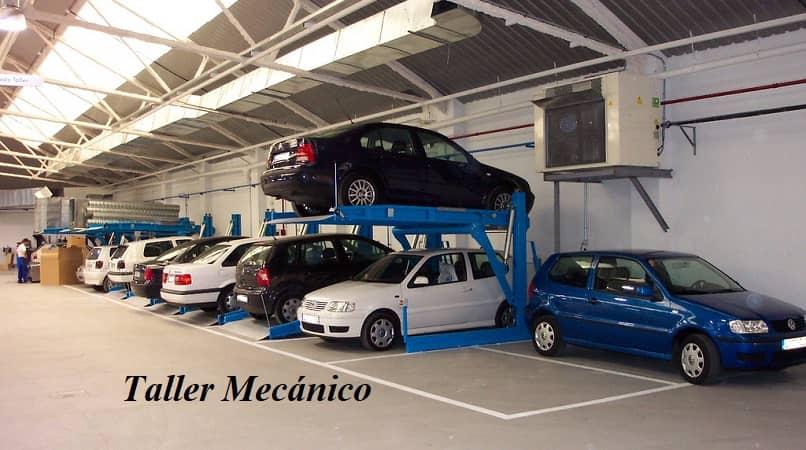 taller mecanico y sus servicios