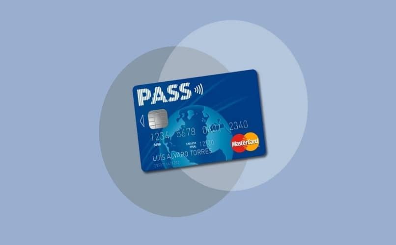 tarjeta pass oficial