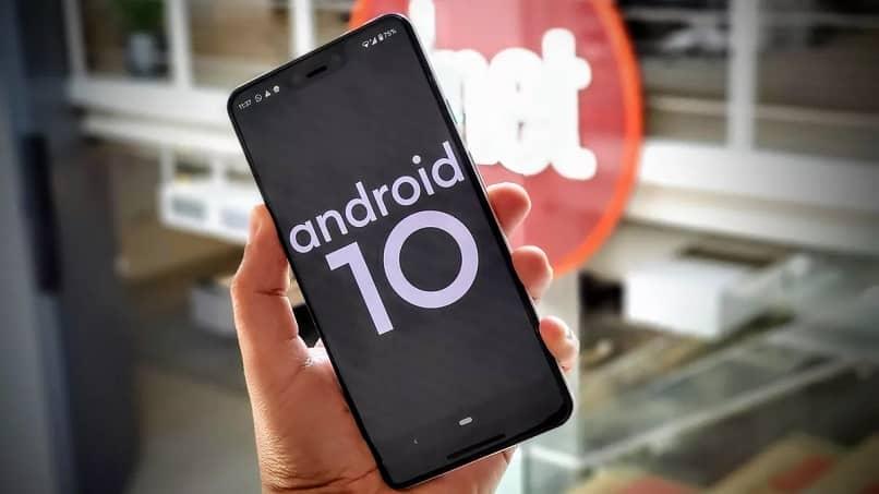 telefono con android 10