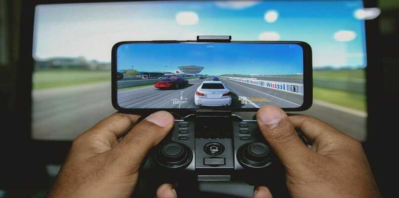 juego de carreras y control