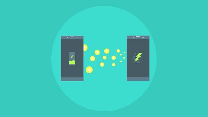 telefono transferir energia carga