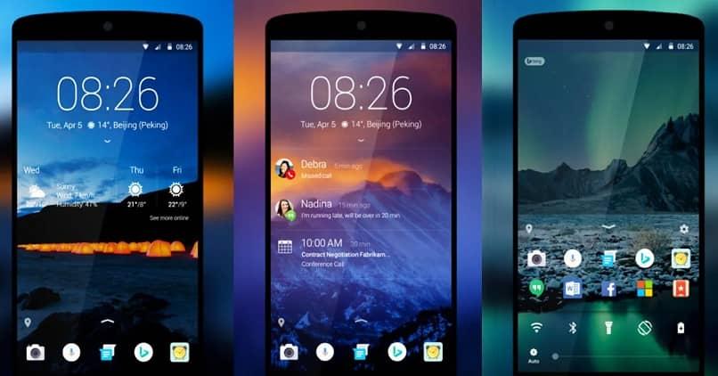 widgets pantalla inicio bloqueo android