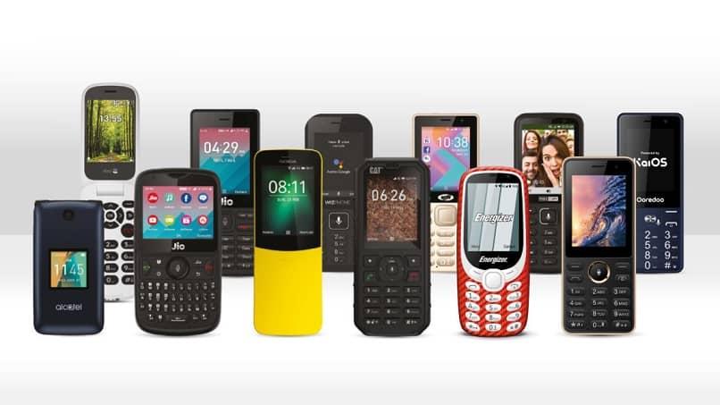telefonos sistema operativo kaios