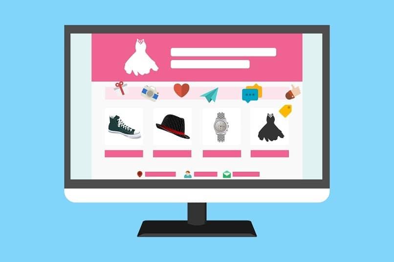 panel consumidores web pantalla