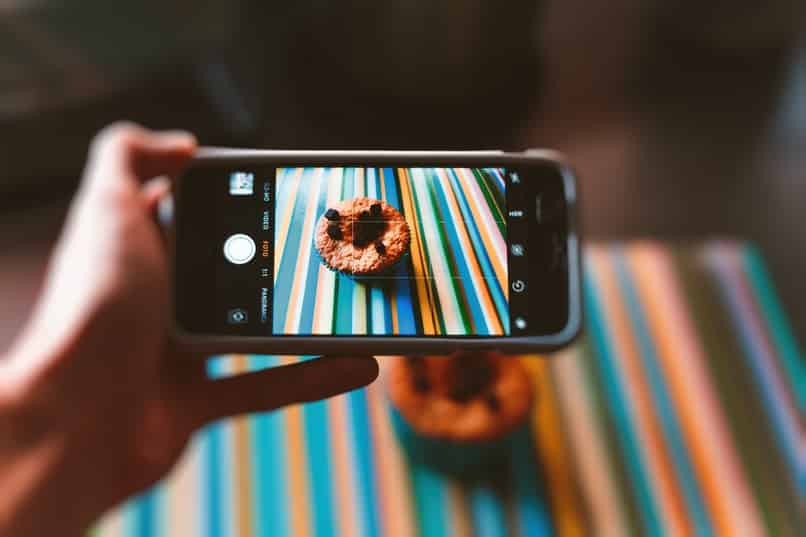 tomar foto y enderezar imagen con el movil