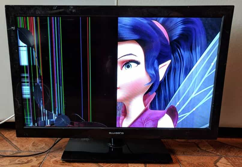 probar la pantalla led de un televisor con un multimetro