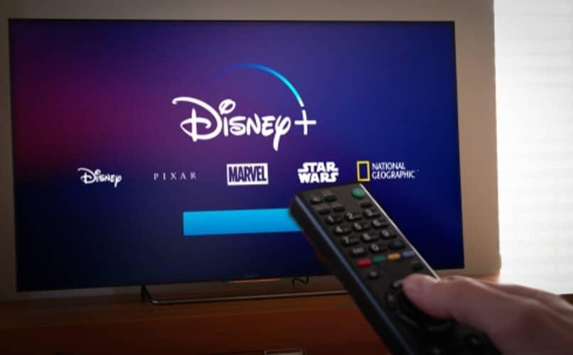 tv smart con disney plus
