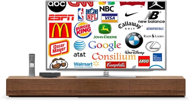 publicidad productos television