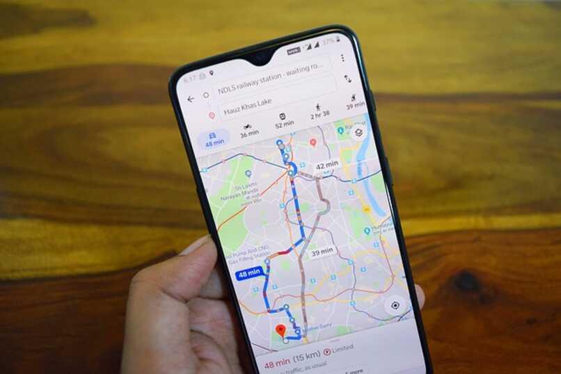 telefono con google maps