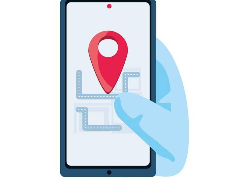 locate the location on your smartphone