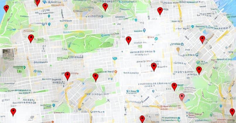 google maps administrar ubicaciones
