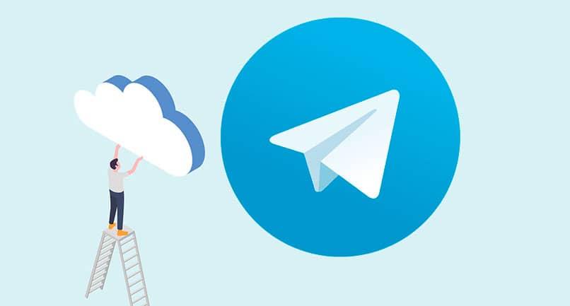 nube de telegram