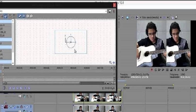 editor de video sony vegas pantalla partida