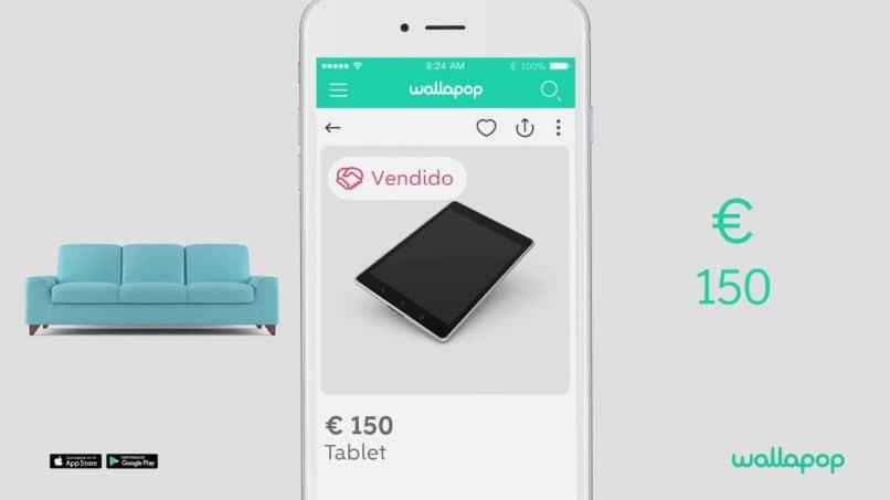 ventas en app wallapop