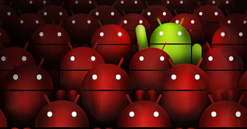 Android system with virus
