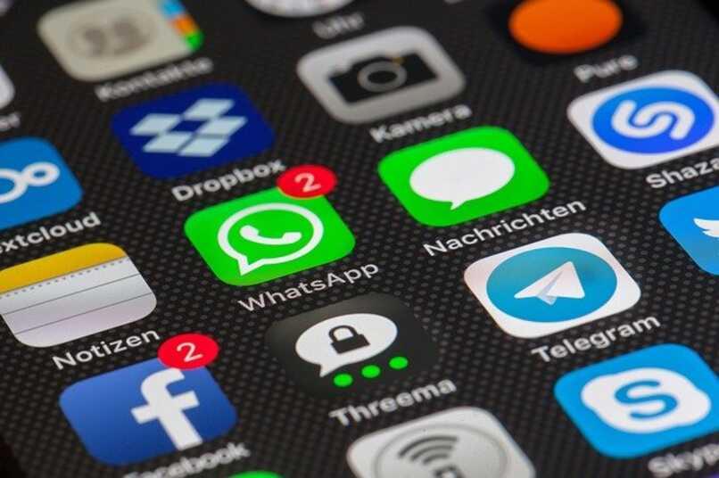 icono de whatsapp en telefono