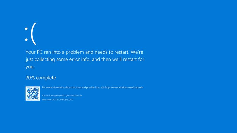 soluciones reparar error fltmgrsys windows 10 pantalla azul