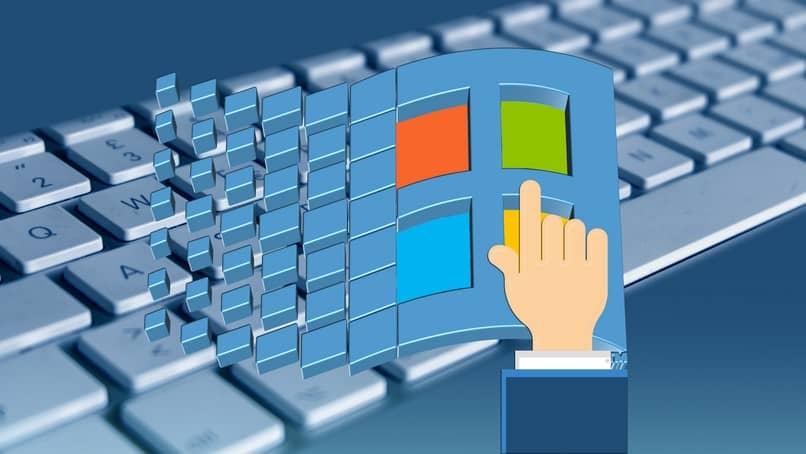 logo windows teclado