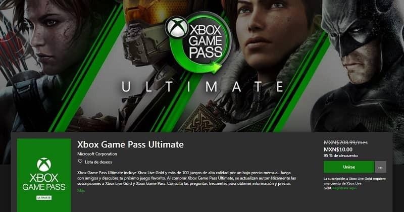 xbox pass game