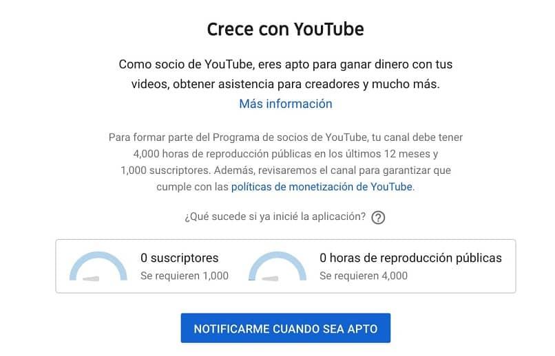 youtube opcion para ver horas de reproduccion publicas