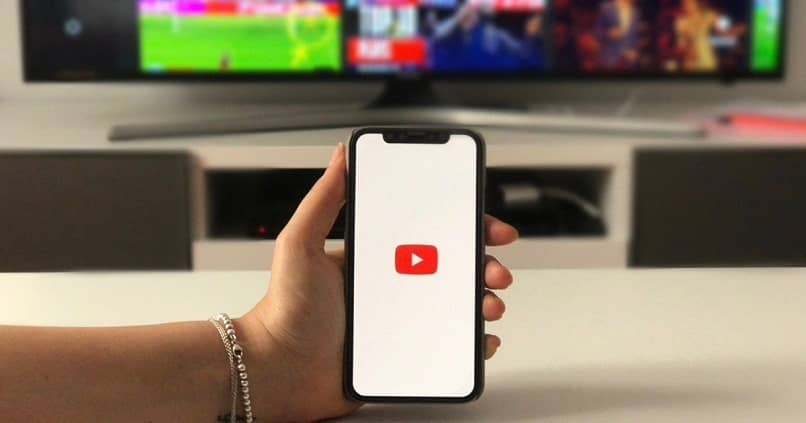 youtube en dispositivo movil iphone